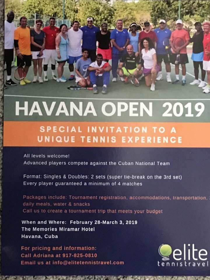 Metropolitan Tennis Group - Havana Open - February 2019